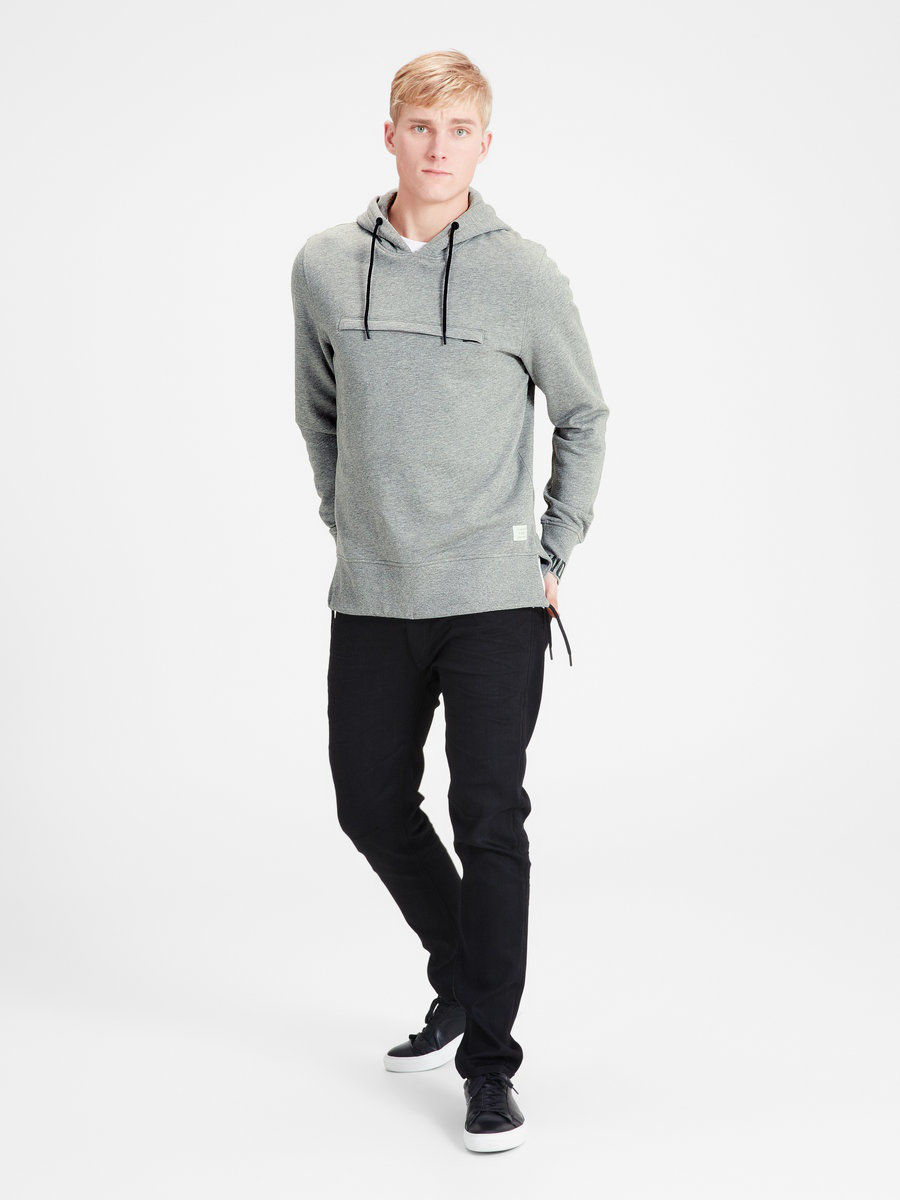 Толстовка Jack & Jones 12113576/LightGreyMelange