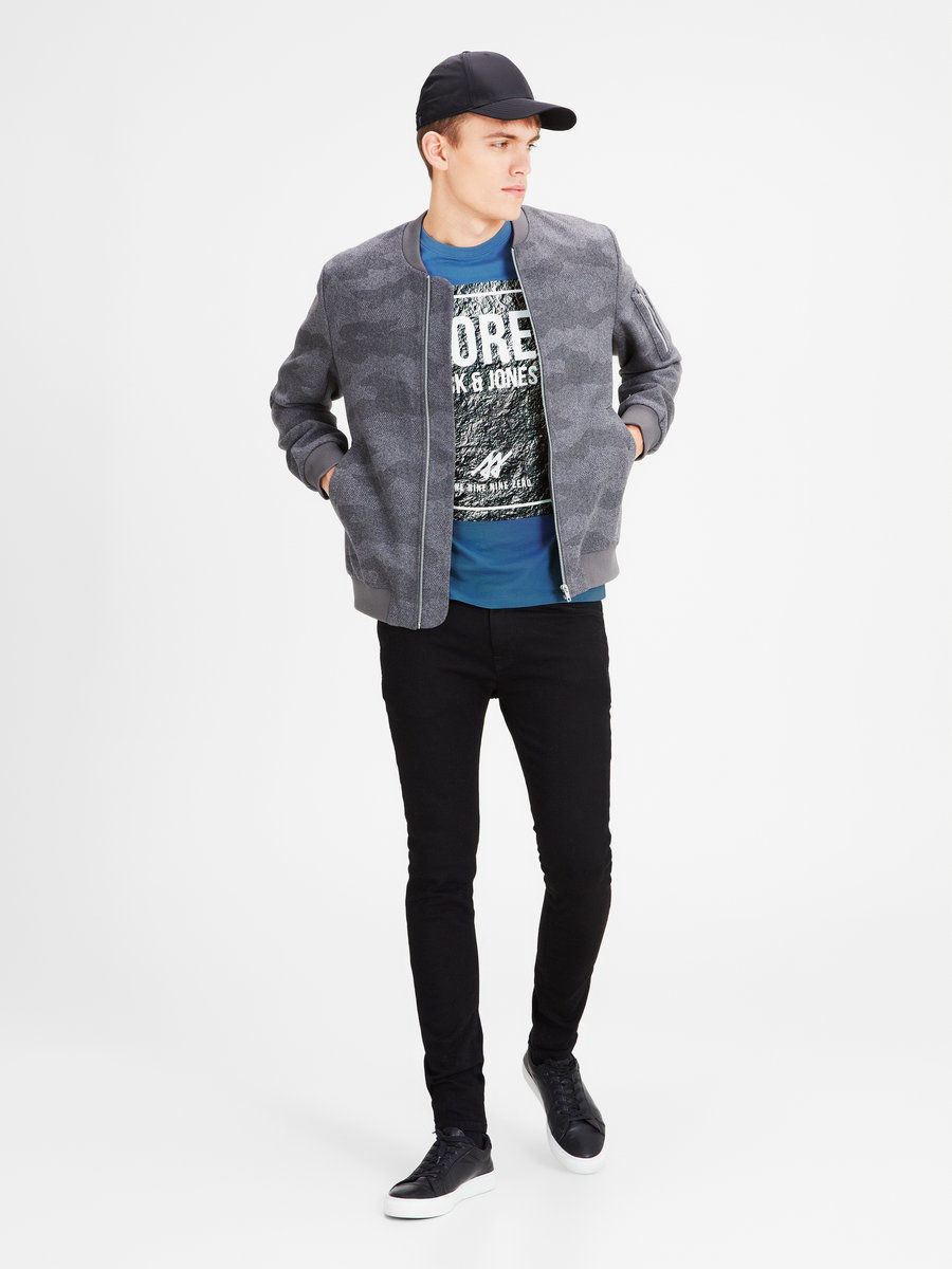 Футболка Jack & Jones 12116891/CopenBlue