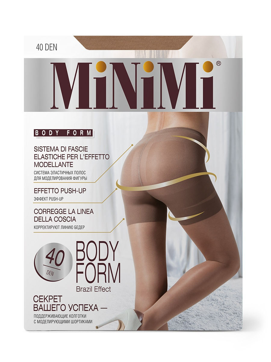 Колготки Minimi BodyForm40/caramello