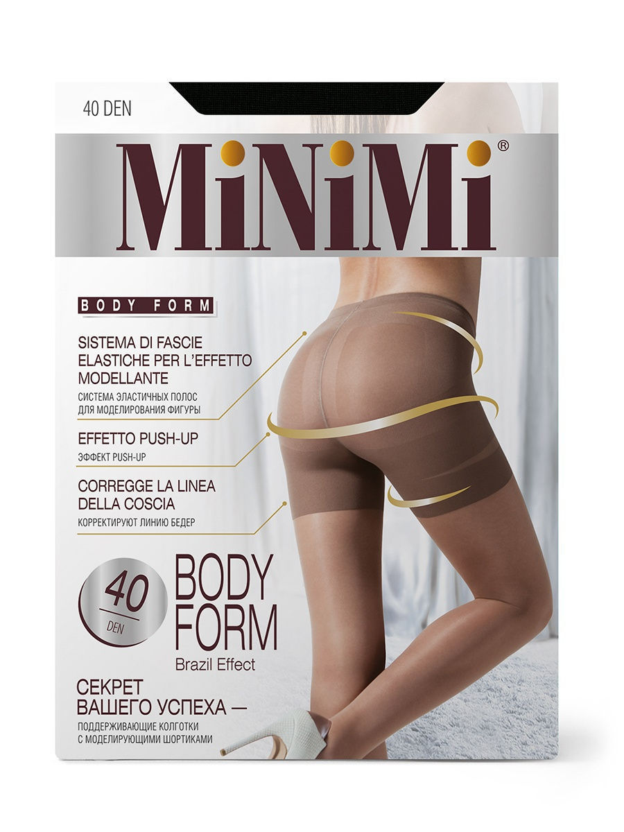 Колготки Minimi BodyForm40/nero