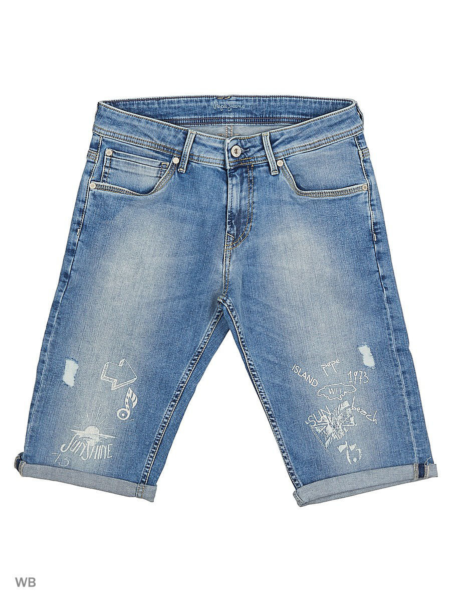 Шорты PEPE JEANS LONDON PB800305/000DENIM