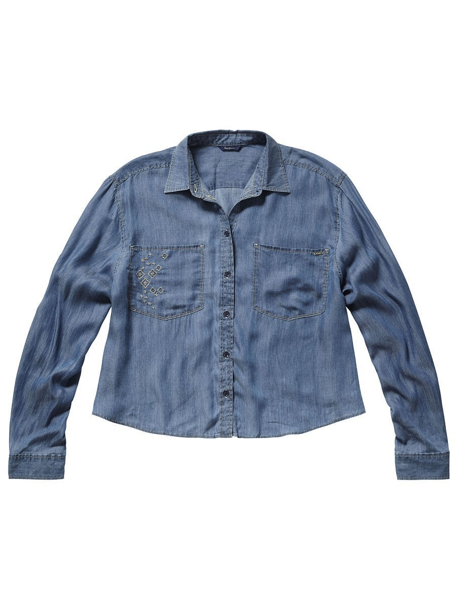 Блуза Pepe Jeans London PL302112/000DENIM