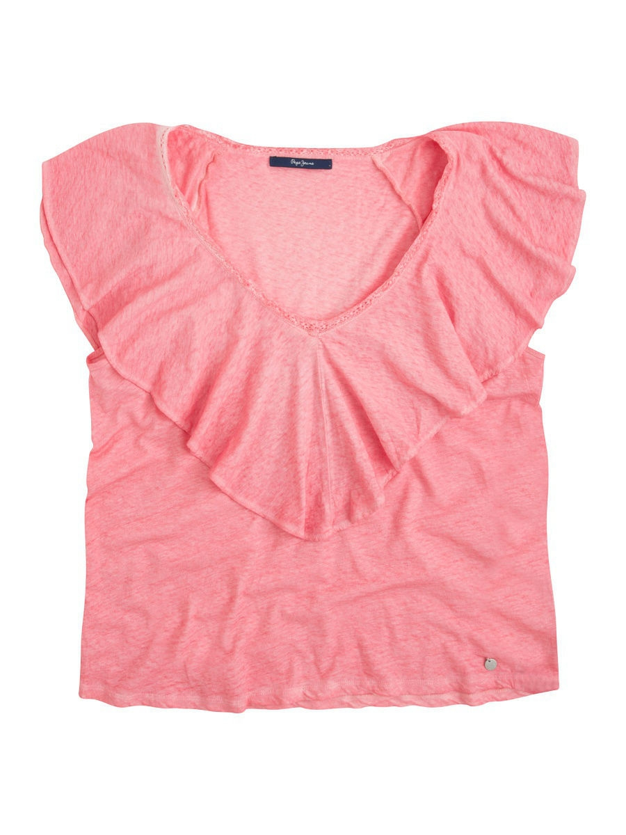 Футболка Pepe Jeans London PL502567/351WASHEDCORAL