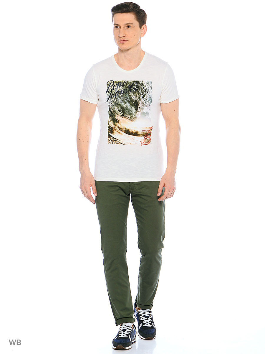 Футболка Pepe Jeans London PM503552/803OFFWHITE