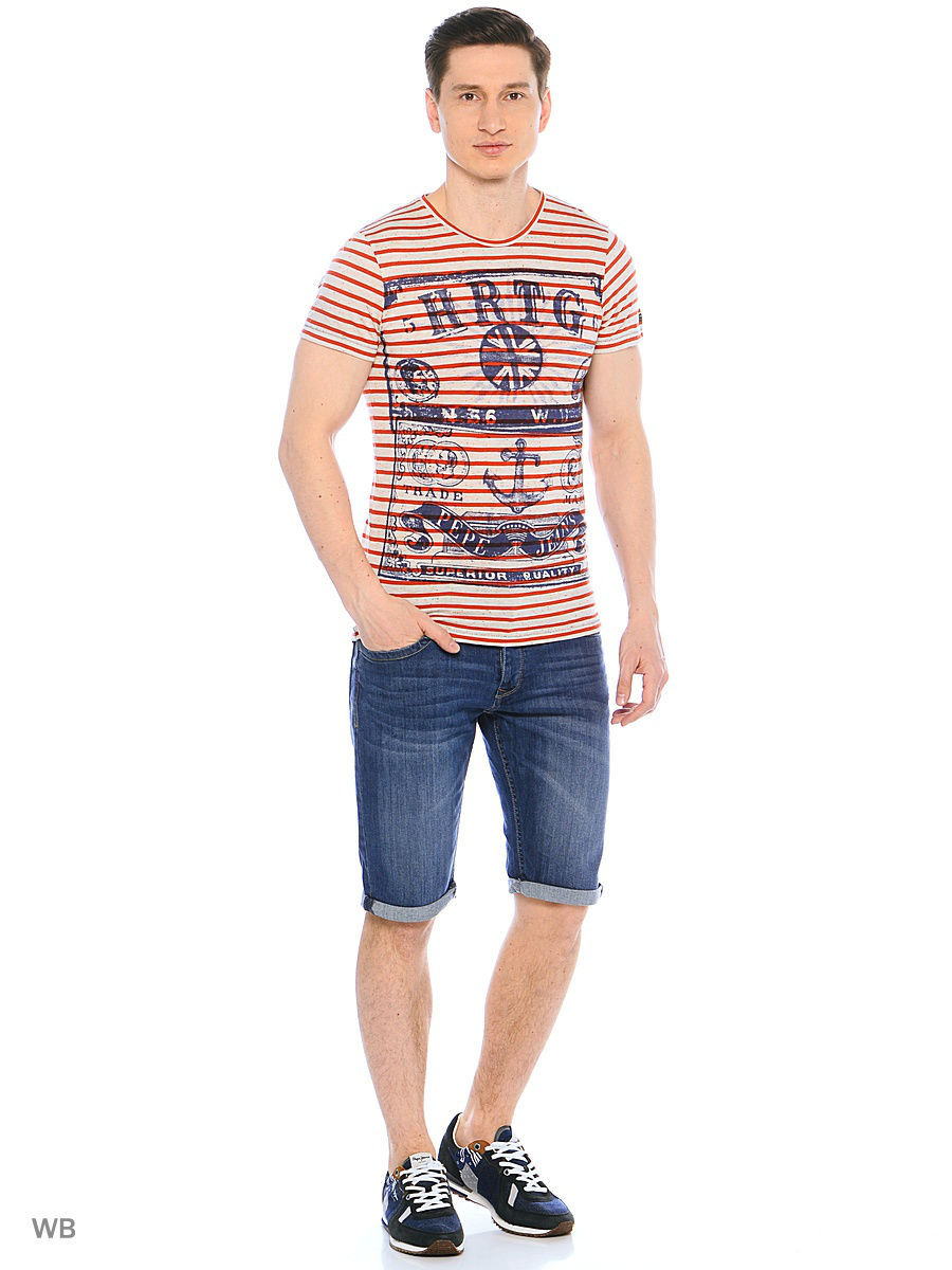 Футболка Pepe Jeans London PM503594/203CINNABAR