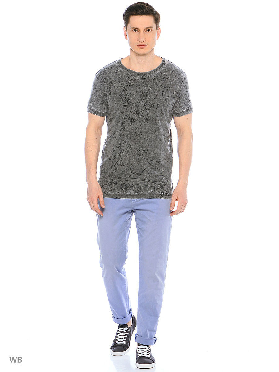 Футболка Pepe Jeans London PM503611/975DKGREY