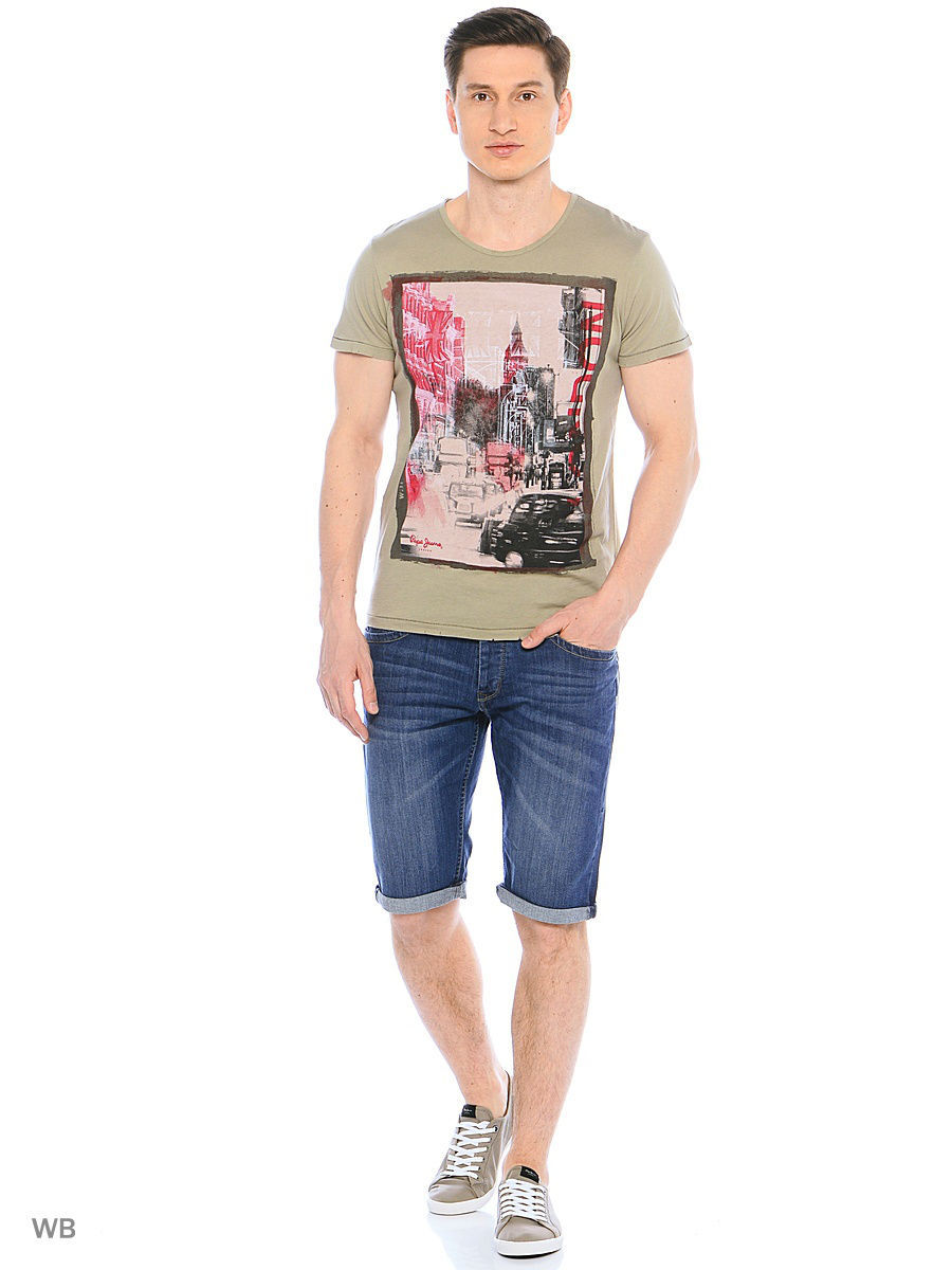 Футболка Pepe Jeans London PM503614/714STIPPLE