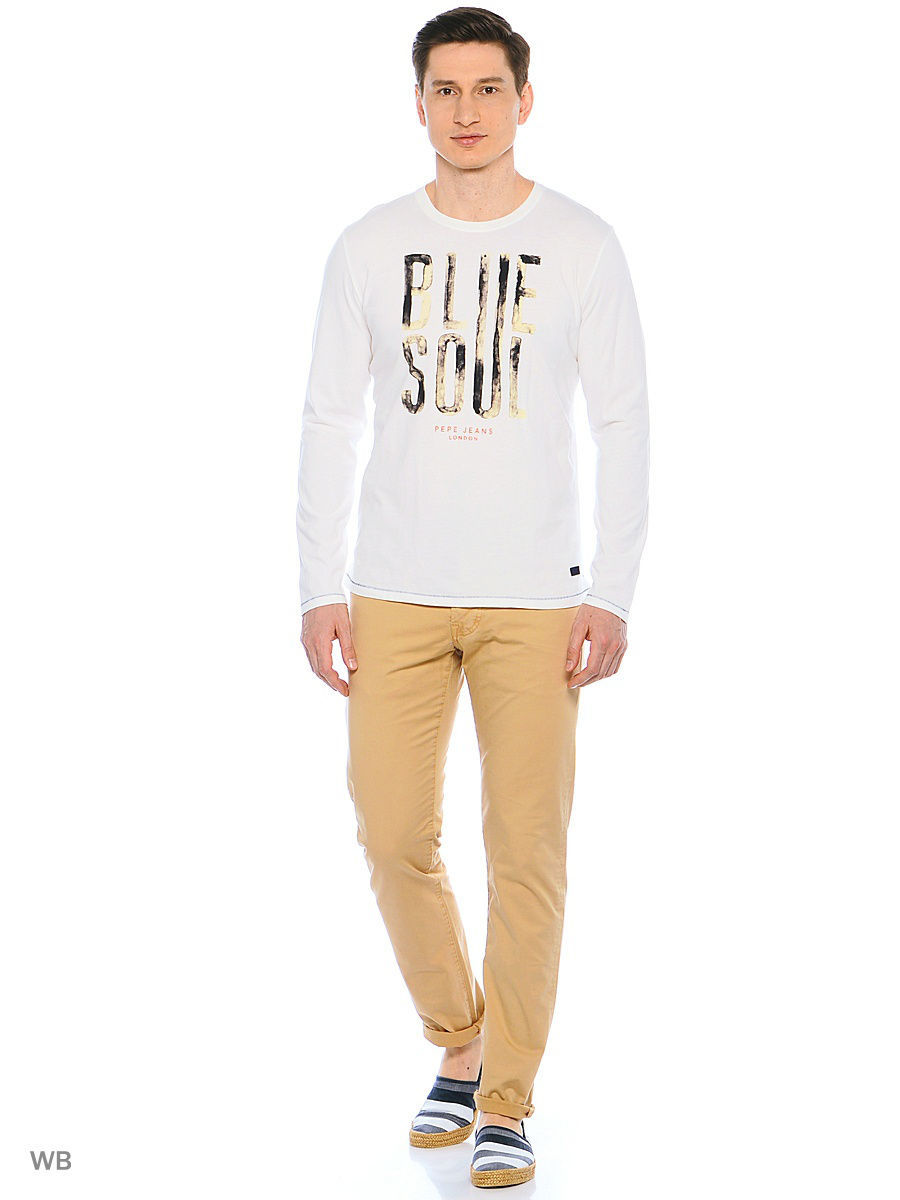 Лонгслив PEPE JEANS LONDON PM503661/803OFFWHITE