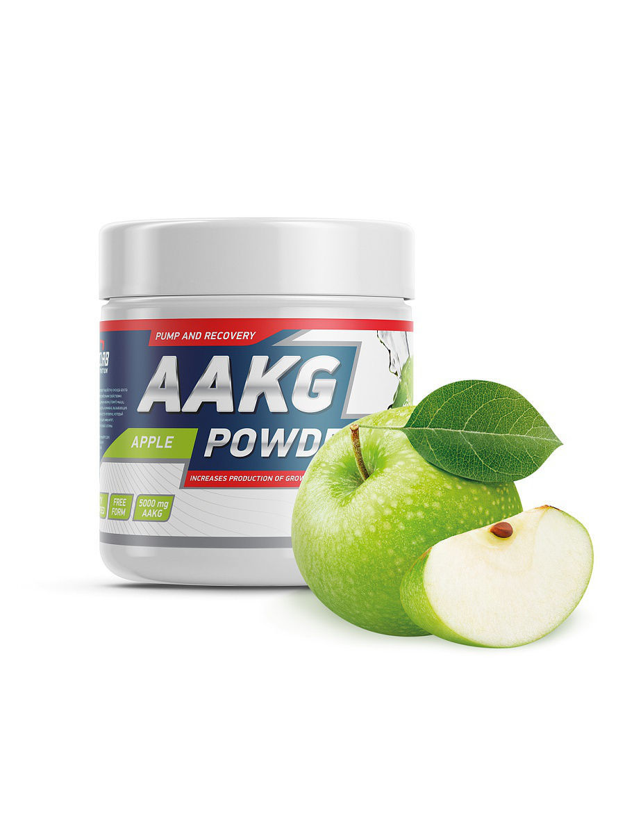 Аргинин GeneticLab AAKG powder (яблоко) 150 гр