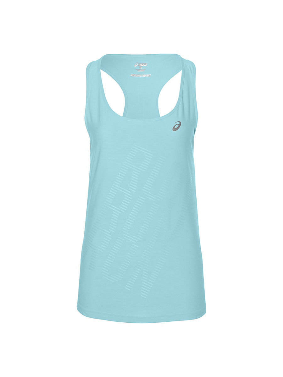 Топ ASICS Топ GRAPHIC TANK letter graphic long tank top