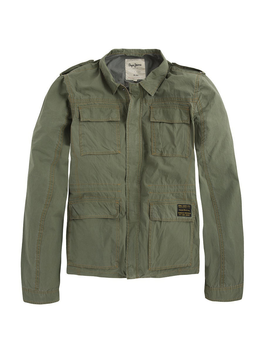 Куртка Pepe Jeans London PM400900/742COMBATGREEN