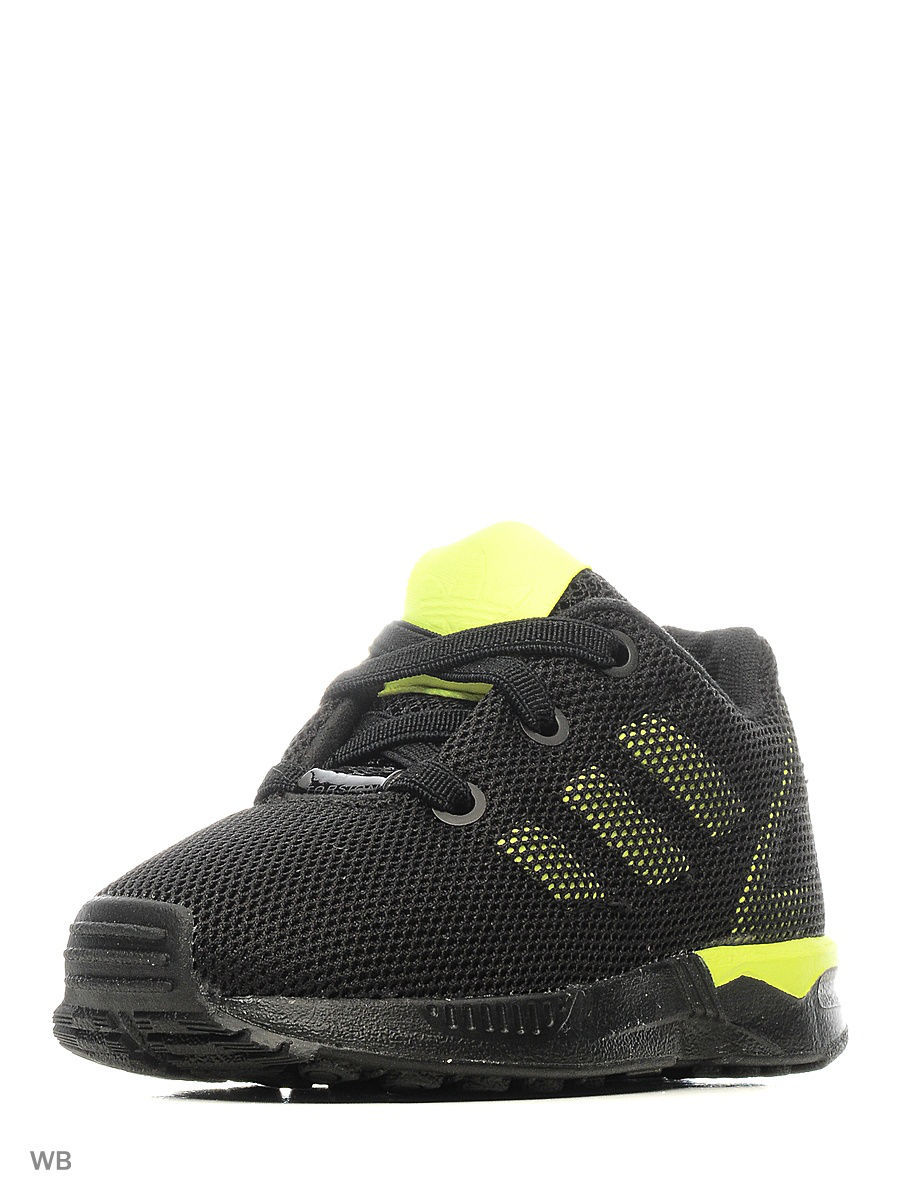 Кроссовки Adidas Кроссовки дет. спорт. ZX FLUX EL I   CBLACK/CBLACK/SYELLO chris johnson capacity create laser focus boundless energy and an unstoppable drive in any organization