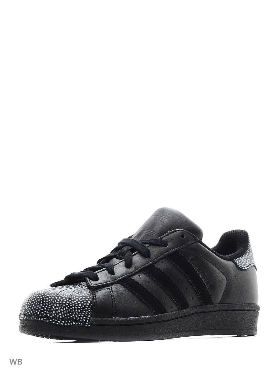 Кеды Adidas Кеды  SUPERSTAR RAY BLACK CBLACK/CBLACK/FTWWHT