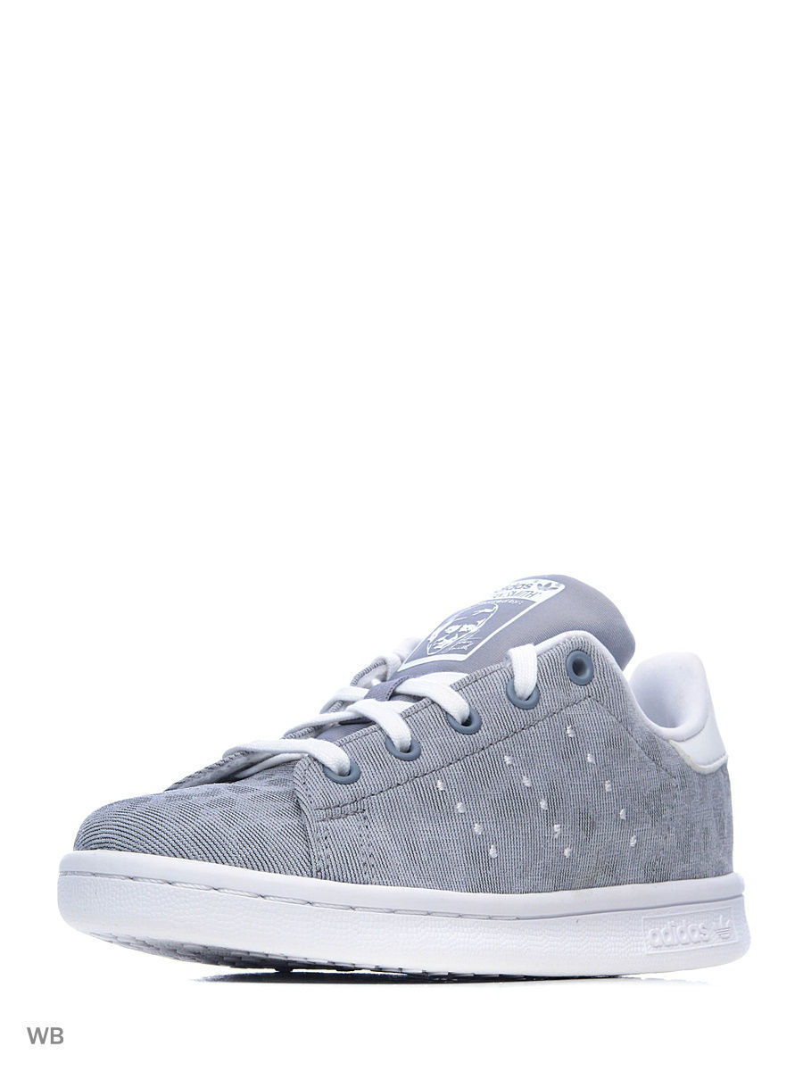 Кеды Adidas Кеды STAN SMITH CHEETAH  GREY/GREY/FTWWHT adidas кеды stan smith w