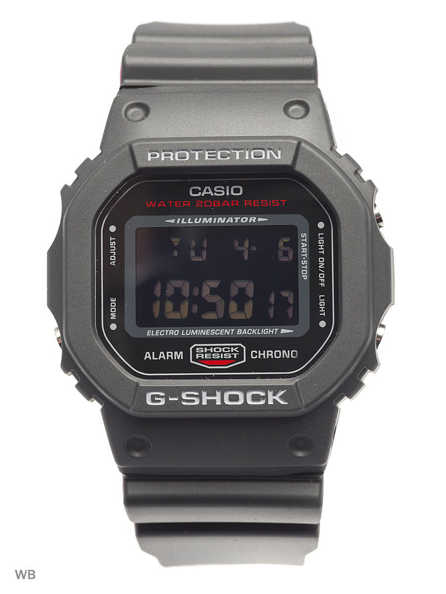 Часы наручные CASIO Часы G-Shock DW-5600HR-1E часы g shock dw 5600hr 1e casio