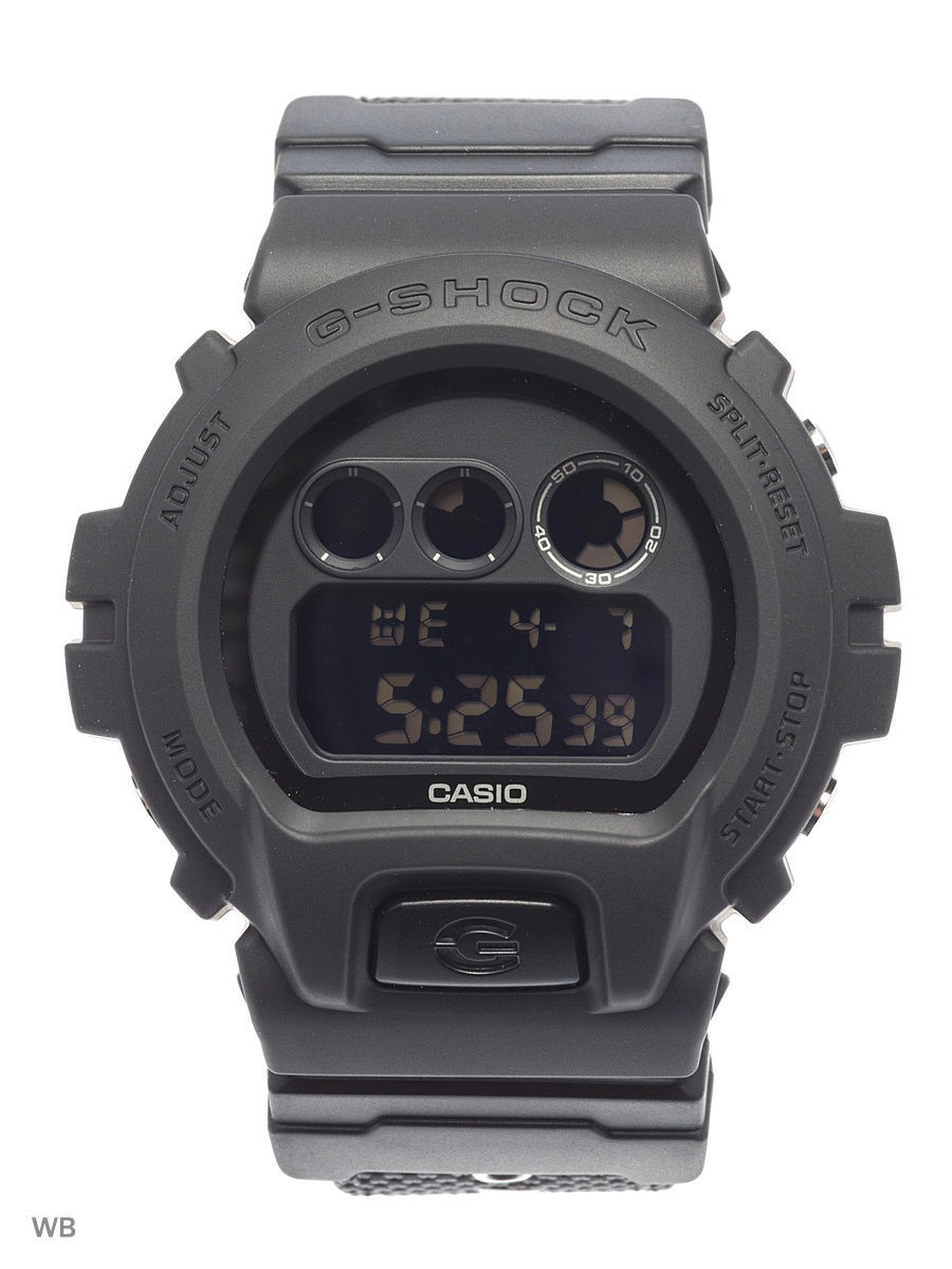 часы casio g shock gd x6900mc 1e black grey Часы наручные CASIO Часы G-Shock DW-6900BBN-1E
