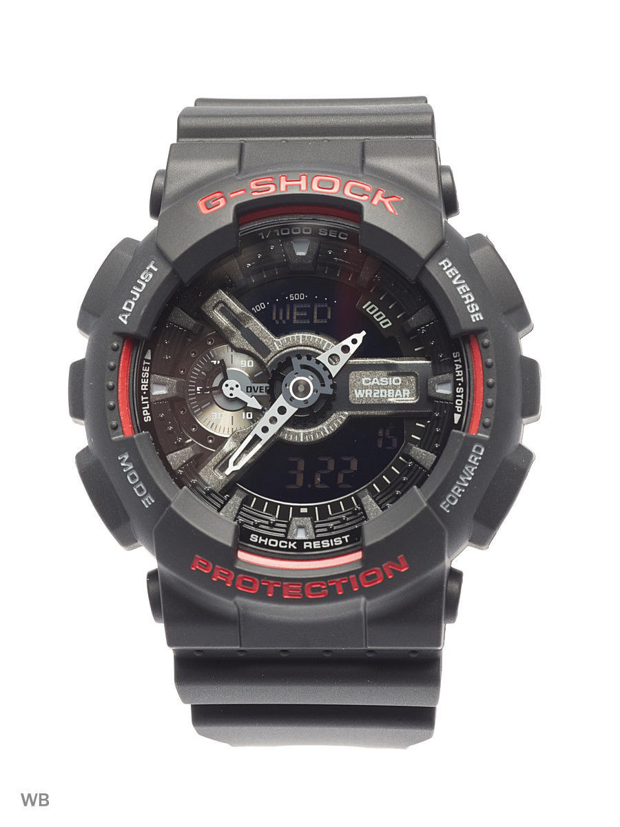 Часы наручные CASIO Часы G-Shock GA-110HR-1A часы casio g shock ga 110gb 1a