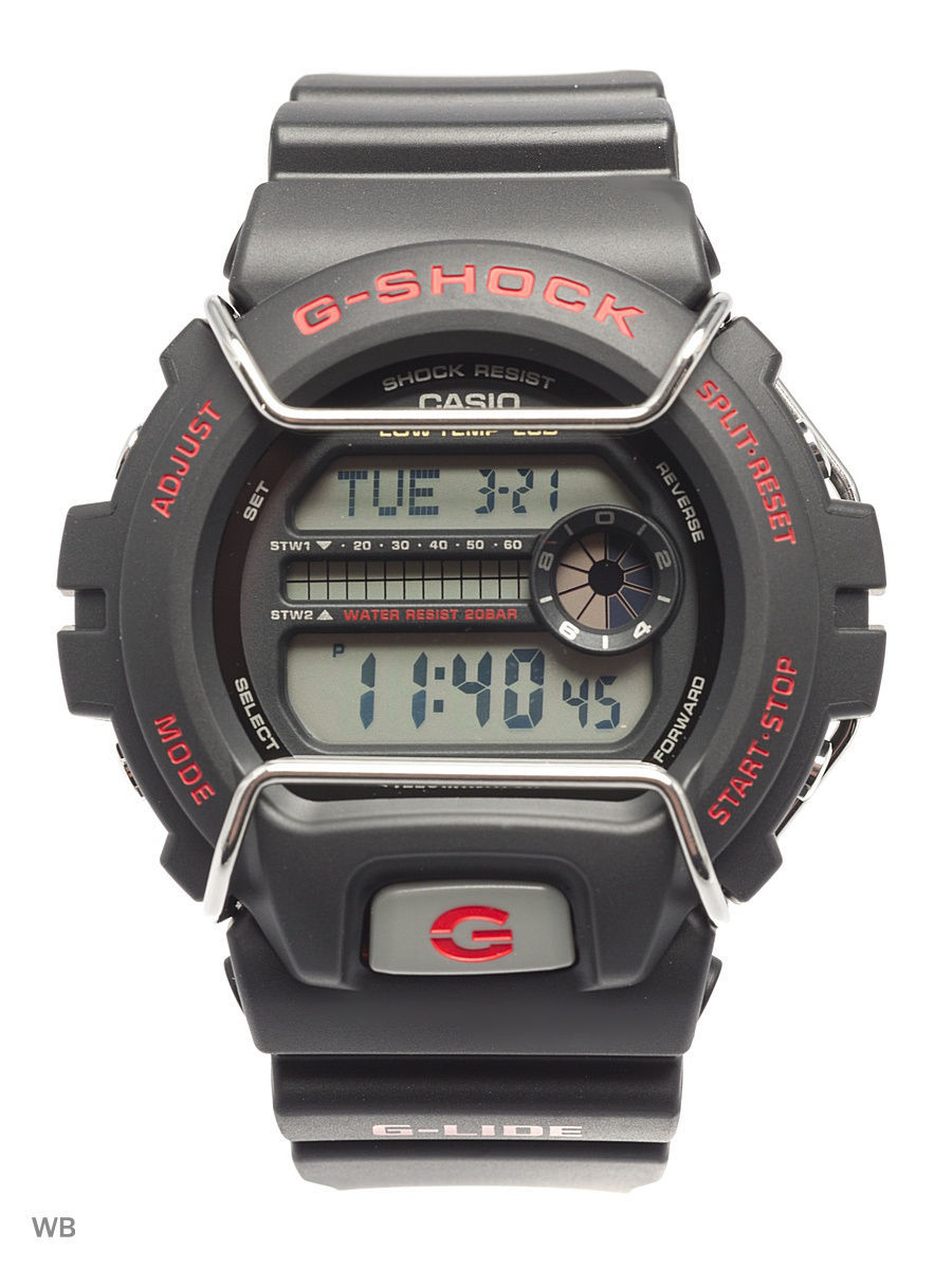 Часы наручные CASIO Часы G-Shock GLS-6900-1E casio часы casio gw 9300cm 1e коллекция g shock