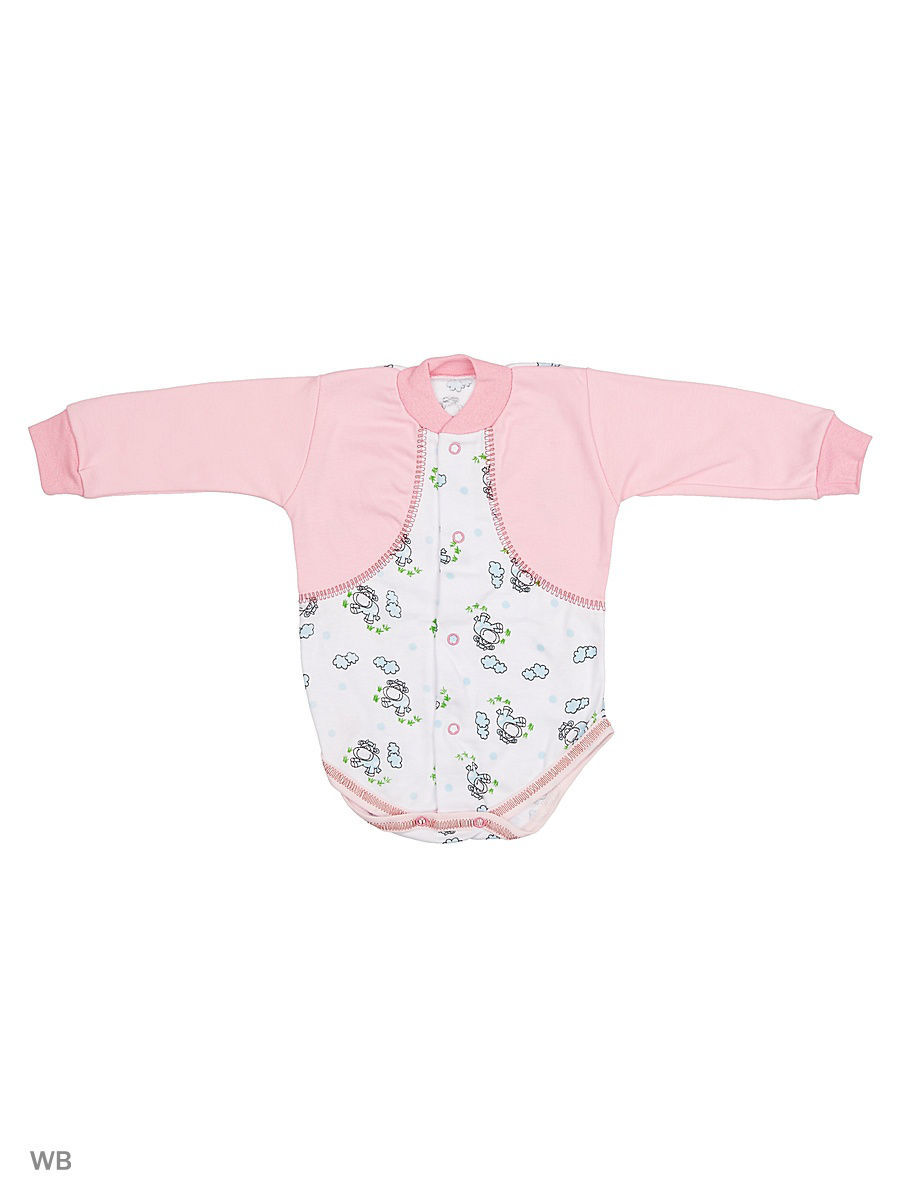 Боди Babycollection 13ZC-BD132-iTpk/d/розовый
