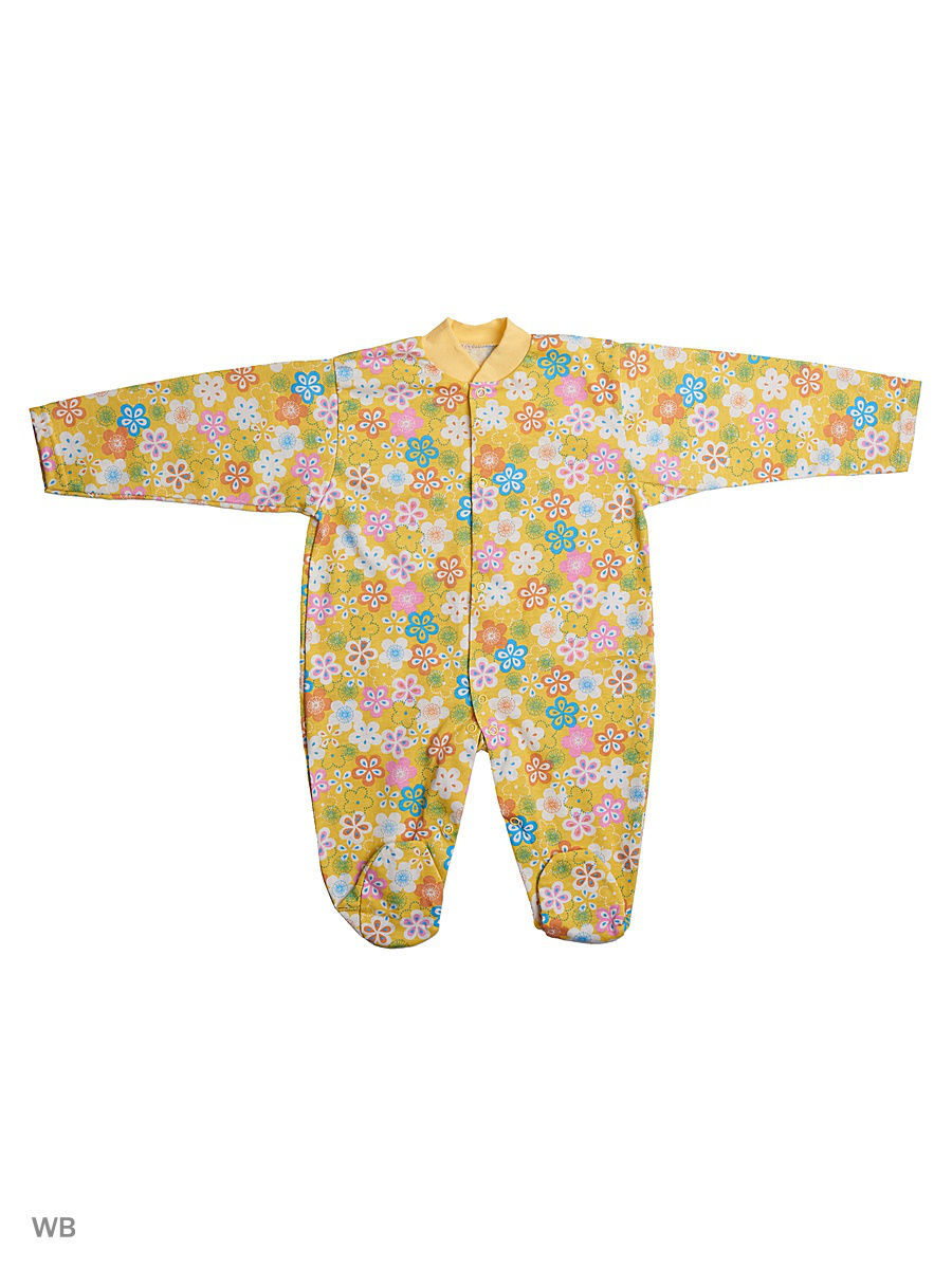 Комбинезон Babycollection 13C-KB152-SUr/d/желтый