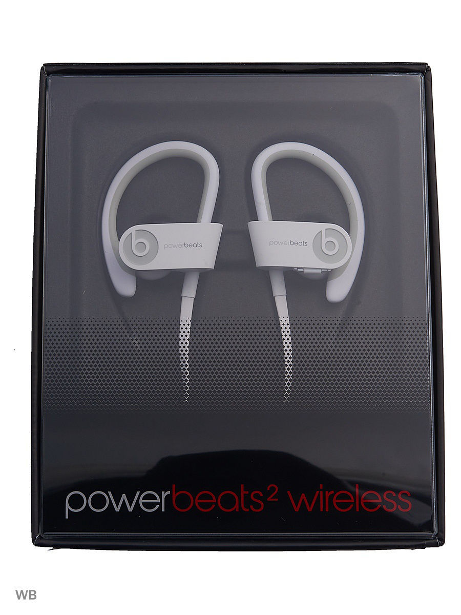 Аудио наушники Beats Наушники Beats Powerbeats 2 WL, белый (MHBG2ZE/A) гарнитура beats powerbeats 3 wl red mnly2ze a