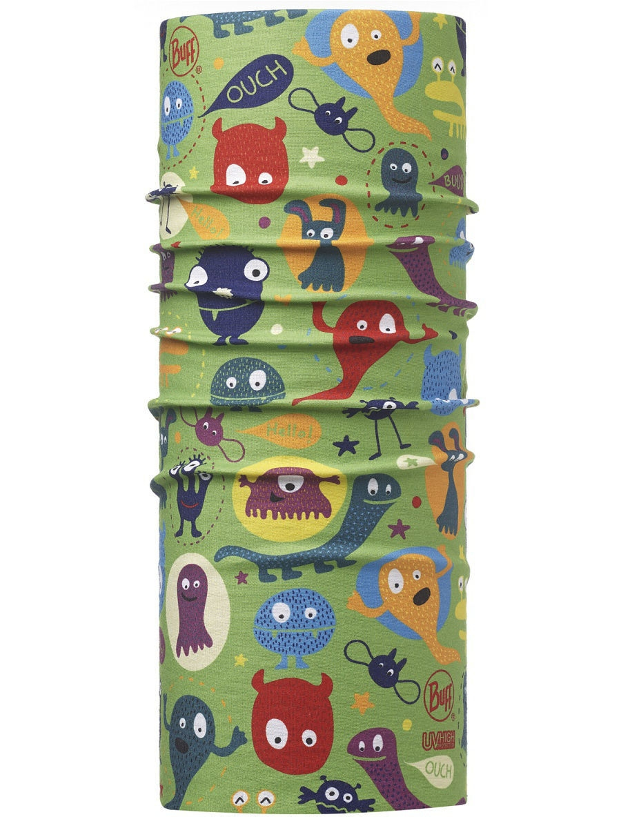 Банданы Buff Бандана BUFF 2016 High UV Protection BUFF CHILD HIGH UV BUFF FUNNY MONSTERS MULTI цена и фото