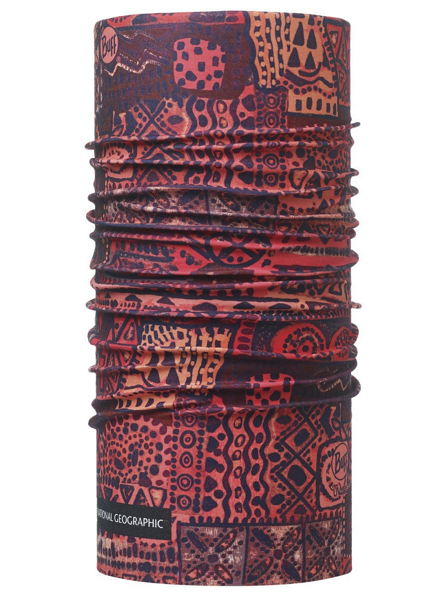 Банданы Buff Бандана BUFF High UV NATIONAL GEOGRAPHIC HIGH UV BUFF ZAKER PINK buff бандана high uv protection africa mood