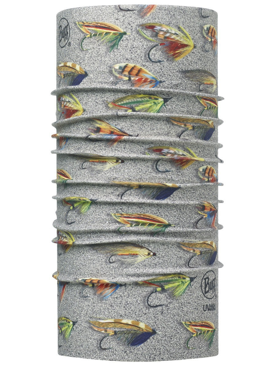 Банданы Buff Бандана BUFF High UV Protection BUFF HIGH UV BUFF SALMON FLIES SAND