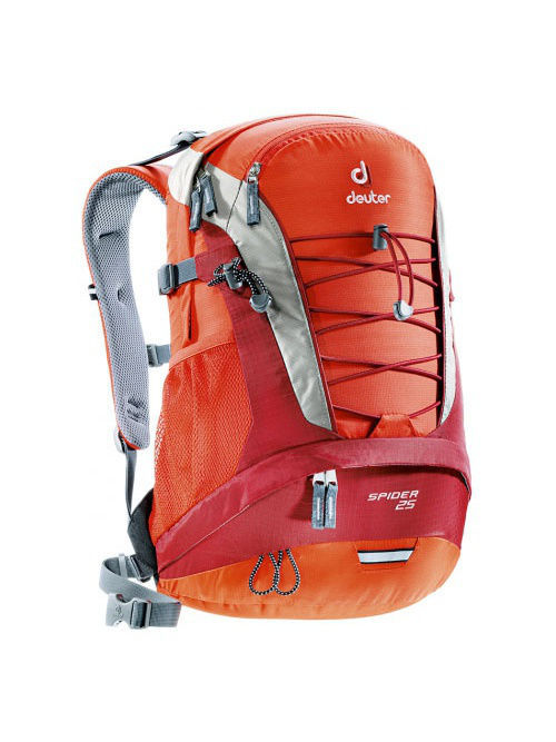 Рюкзаки Deuter Рюкзак Daypacks Spider 25 papaya-lava велорюкзак deuter 2016 17 winx 20 granite papaya 42604 4904