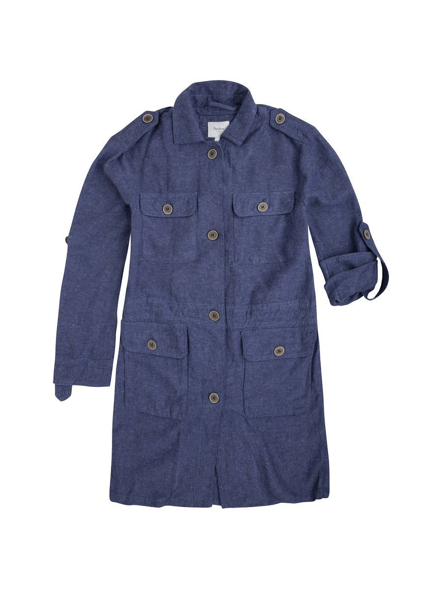 Плащ Pepe Jeans London PL401205/551BLUE