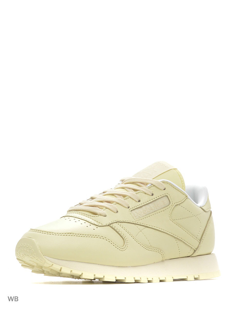 Кроссовки Reebok Кроссовки CL LTHR PASTELS     WASHED YELLOW/WHITE nike regent lthr