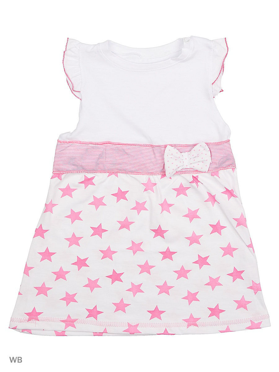 Платье Babycollection 11Baby-190/1/d/розовый