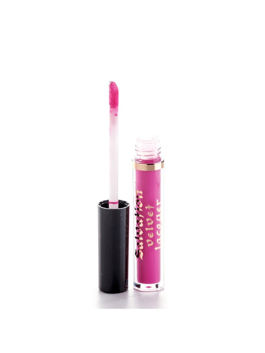 Помады MakeUp Revolution Жидкая помада Salvation velvet lip lacquer  I fall in love, ярко-розовый sleek makeup губная помада lip v i p lipstick 3 6 гр 9 оттенков губная помада lip v i p lipstick 3 6 гр attitude тон 1012 3 6 гр