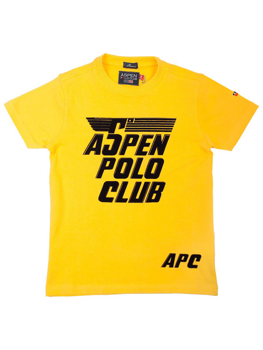 Футболка Aspen Polo Club PC36M696T/желтый