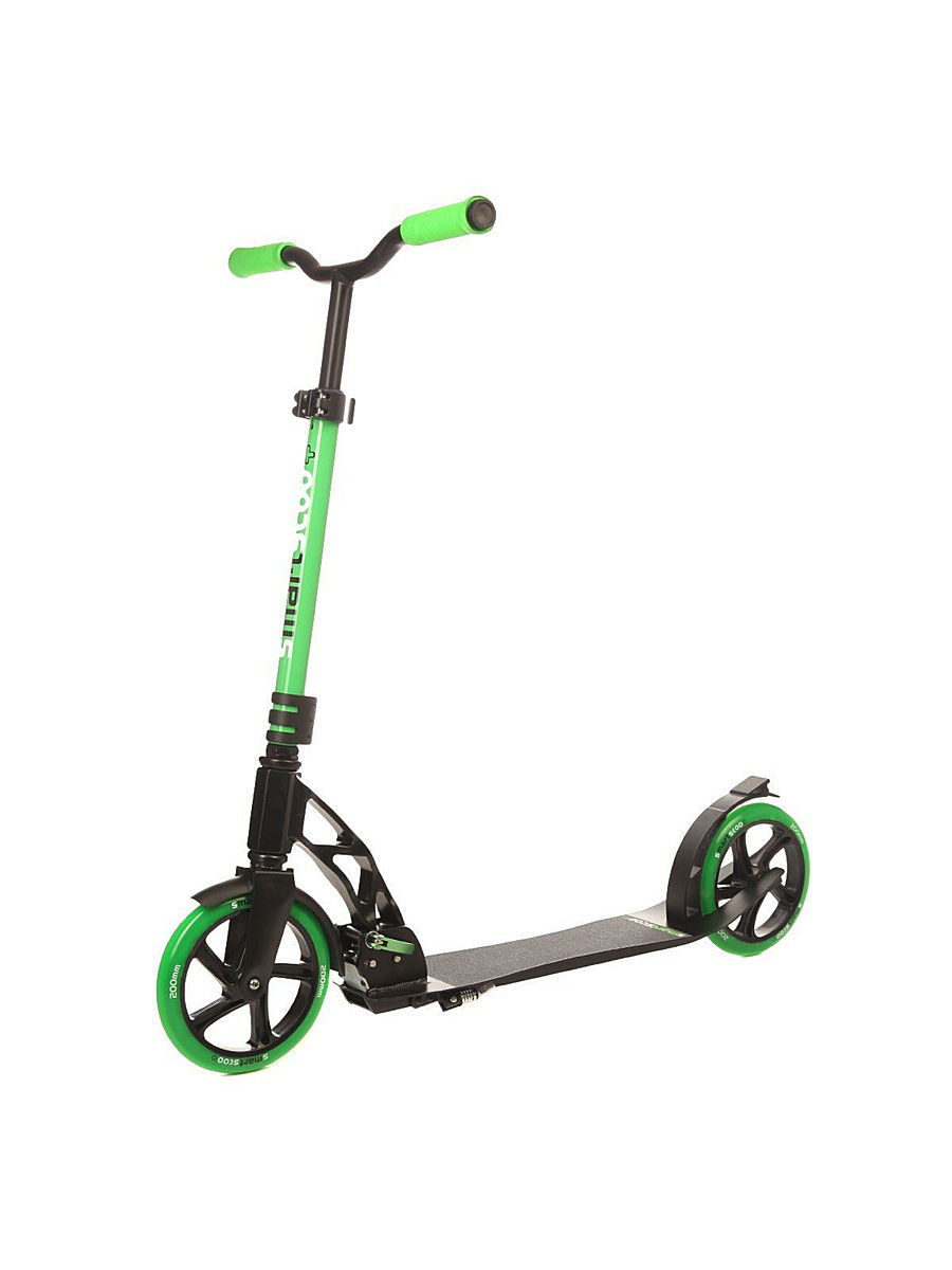 Самокаты Smartscoo Самокат Fun4U Smartscoo Green, 200 mm самокат складной fun4u smartscoo 200mm black orange