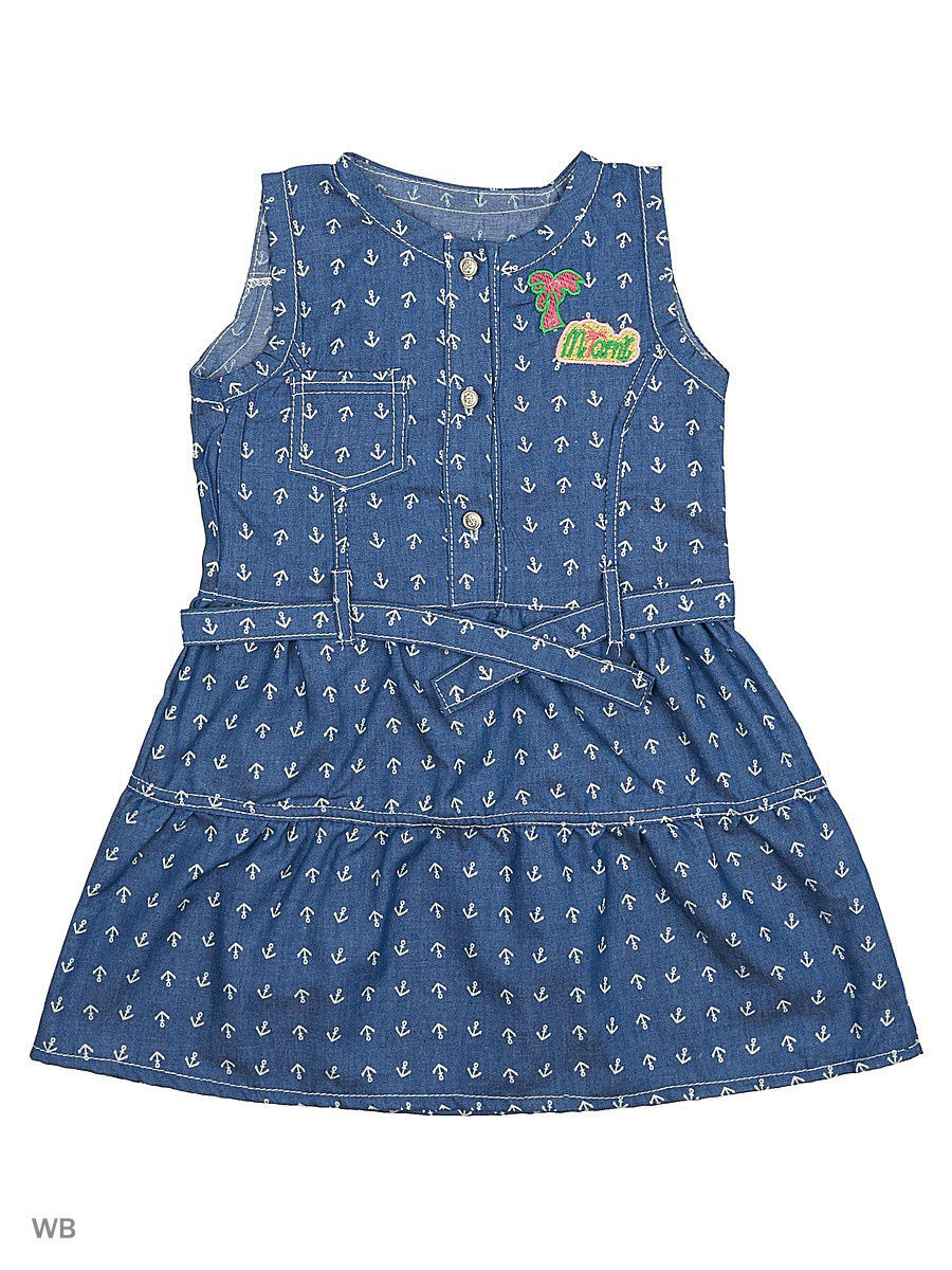 Платье Babycollection 12Baby-609/1/d/индиго