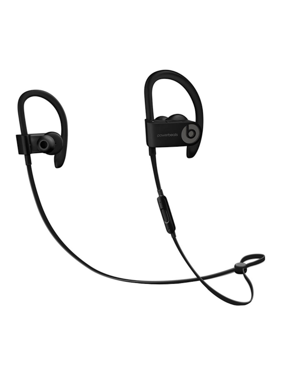 Аудио наушники Beats Наушники Beats Powerbeats 3 Wireless, черный (ML8V2ZE/A) beats mh782zm a powerbeats 2 wireless red