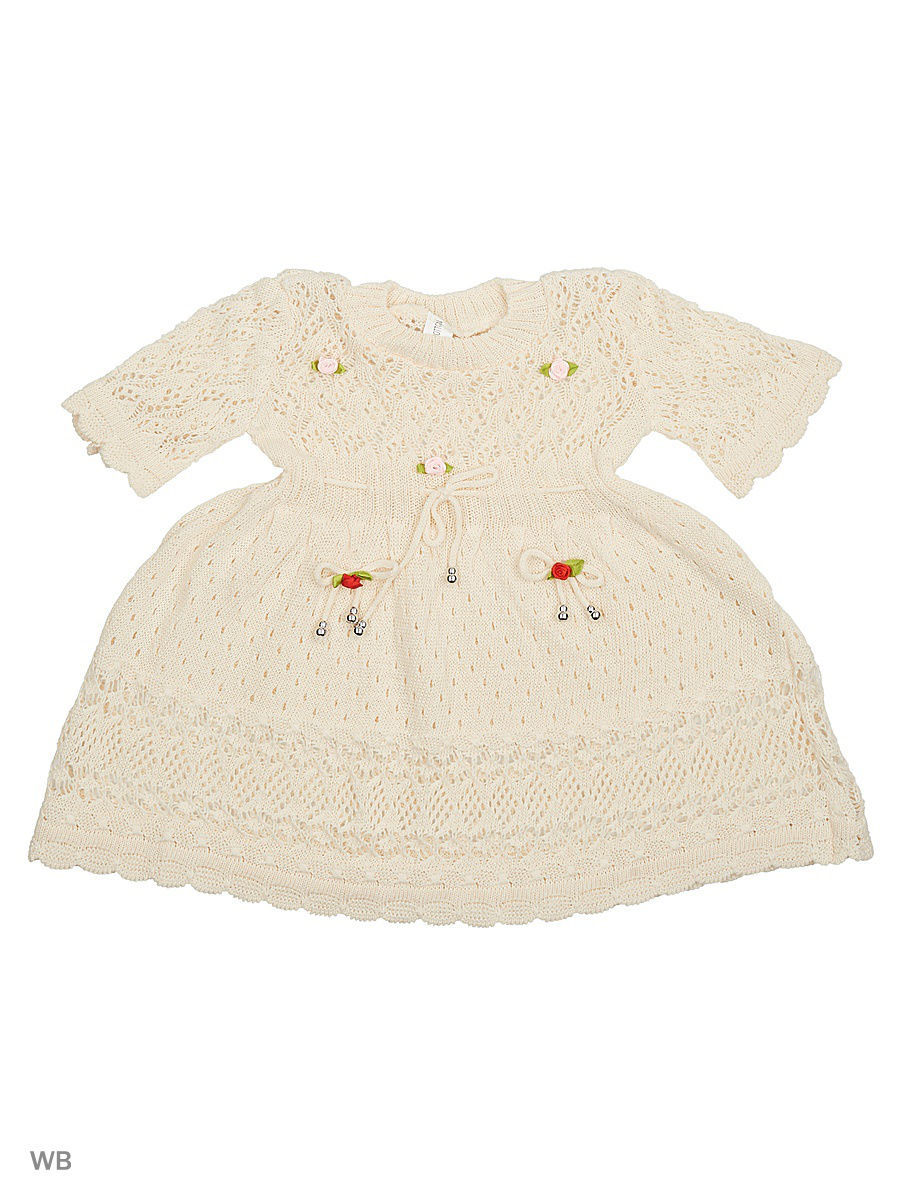 Платье Babycollection 13CR-396/d/кремовый