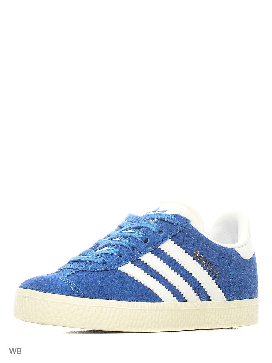 Кеды Adidas Кеды дет. спорт. GAZELLE C           BLUE/FTWWHT/GOLDMT толстовки adidas толстовка дет спорт i fav fz hd blue white