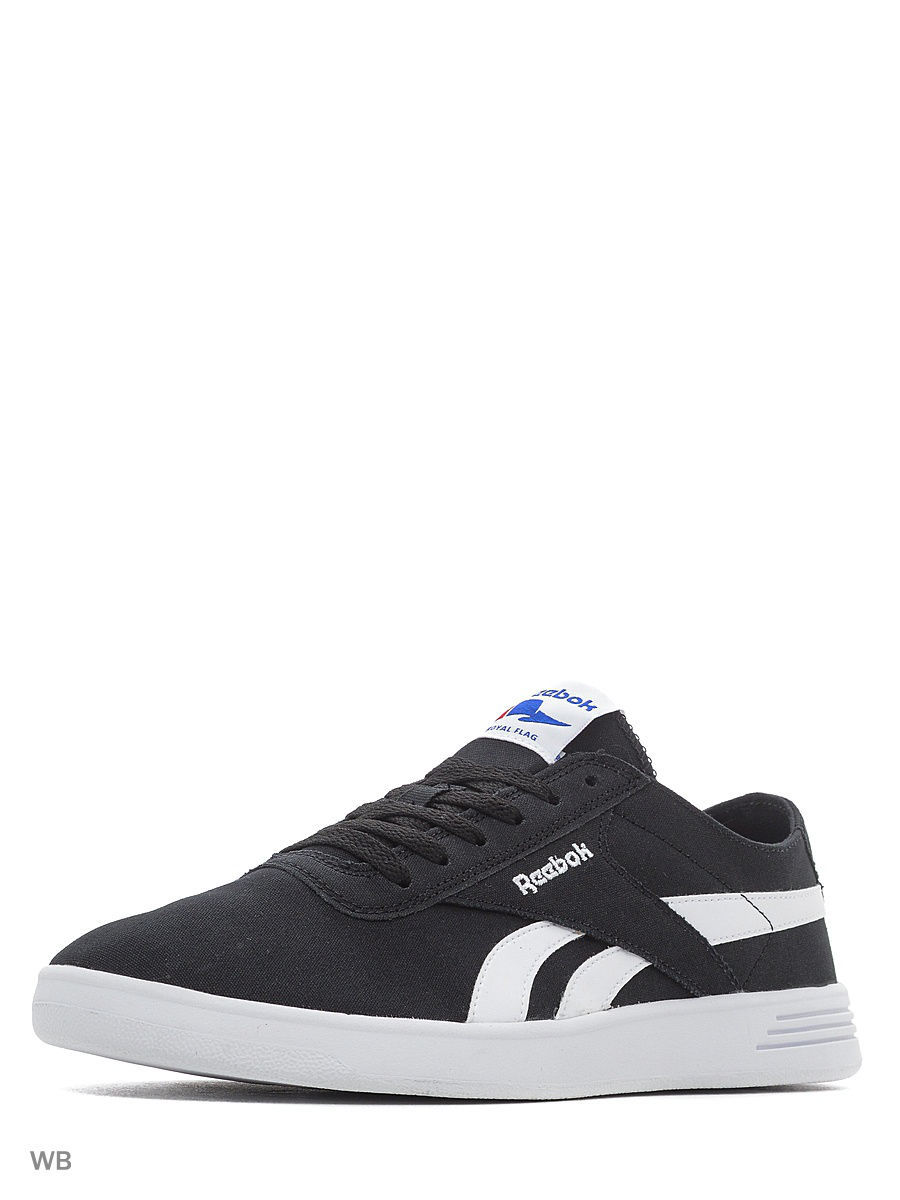 Кеды Reebok Кеды Reebok Royal Global Black/White reebok оригинал