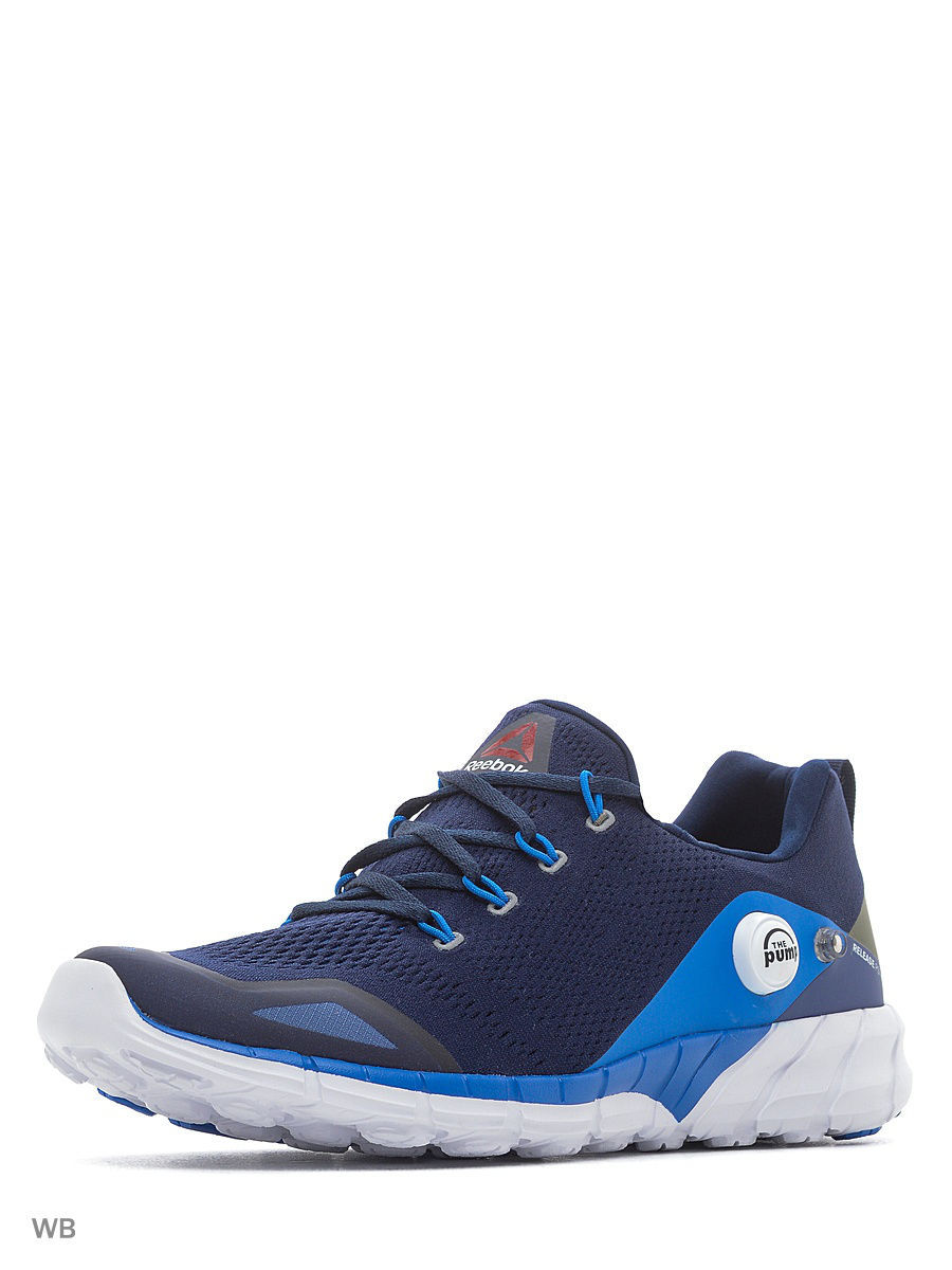 reebok брюки os kn trackster Кроссовки Reebok Кроссовки Zpump Fusion 2.0 Kn Nvy/Blue/Blue/Grn/Wh