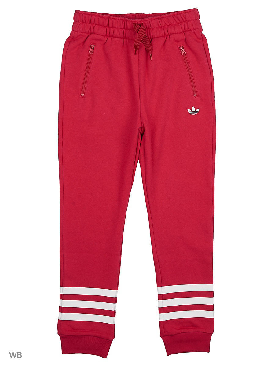 Брюки Adidas Брюки J FT PANTS G  UNIPNK/WHITE брюки perfect j брюки