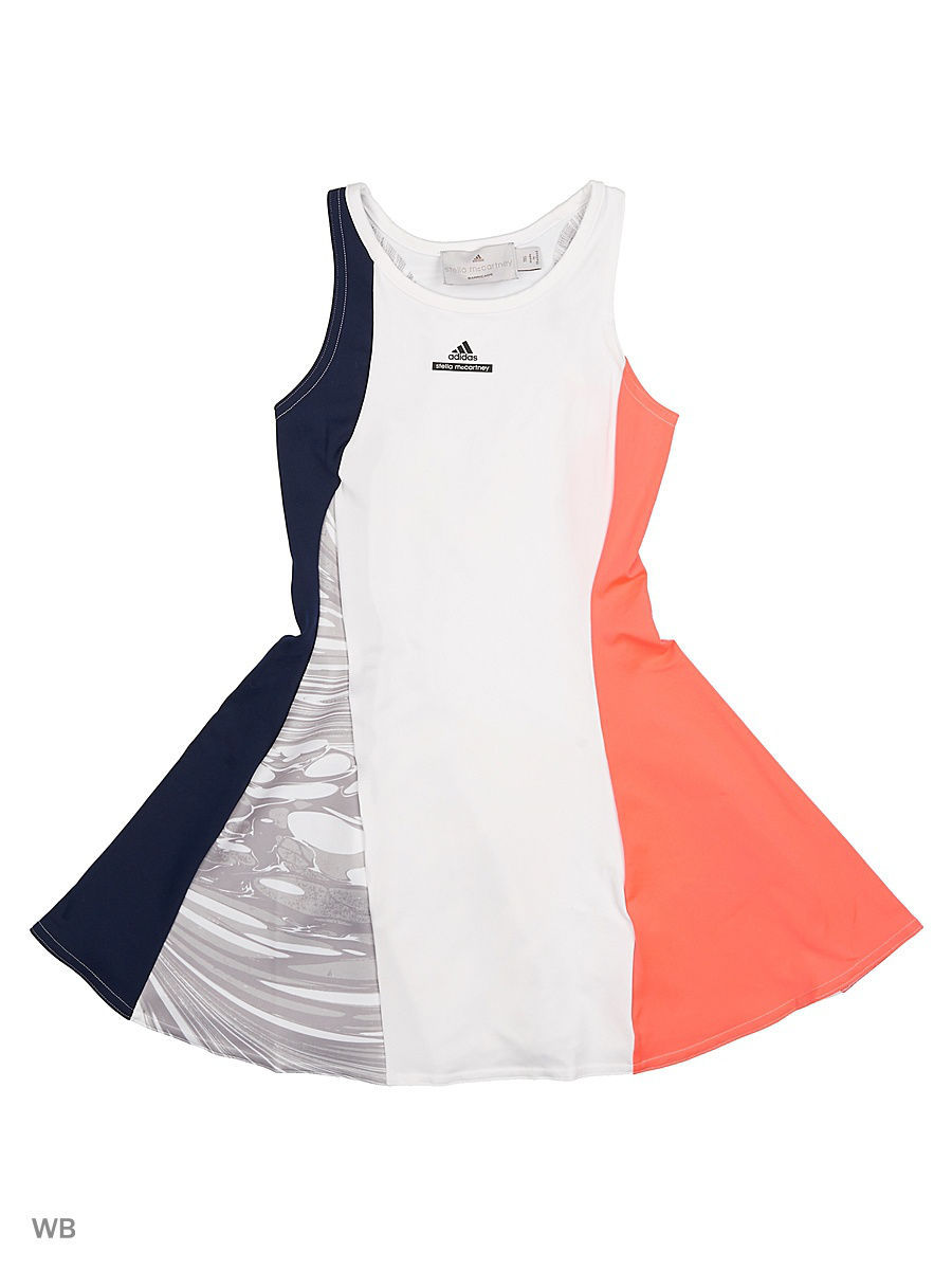 Платья Adidas Платье дет. спорт. G DRESS             WHITE/CONAVY/FLARED толстовки adidas толстовка дет спорт i fav fz hd blue white