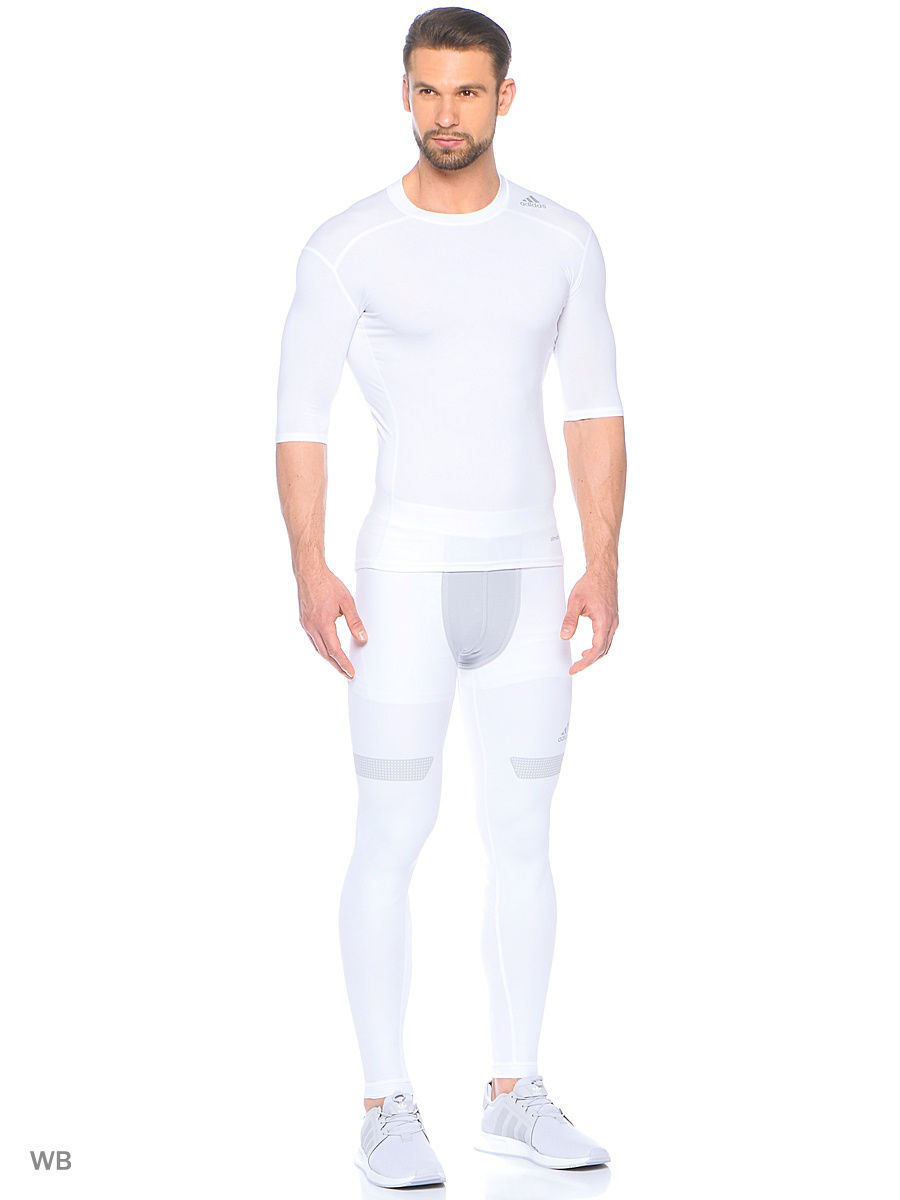 Лонгслив Adidas Лонгслив Techfit Base Tee base forms mp002xw1g2wo