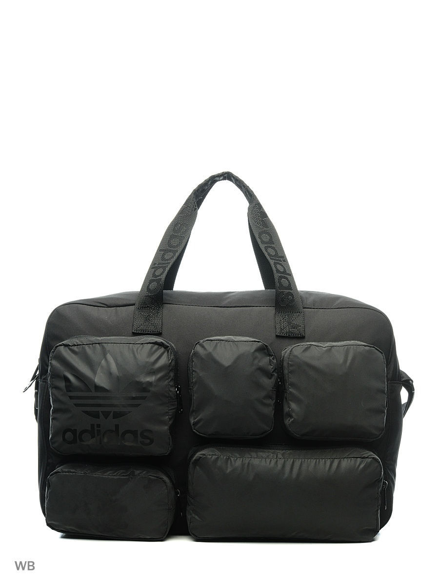 Сумка с принтом взр. MULTI P BAG         BLACK