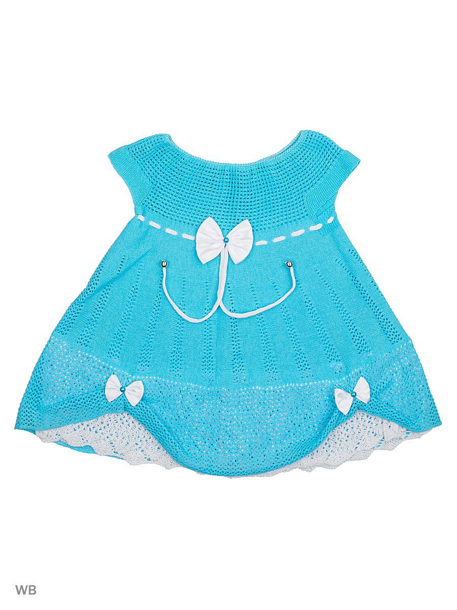 Платье Babycollection 13CR-421/d/бирюзовый