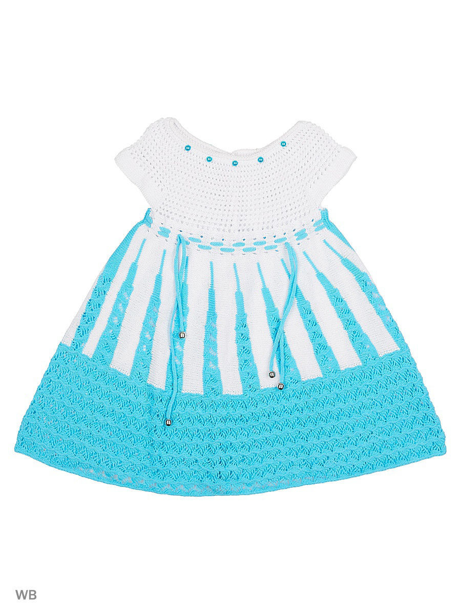 Платье Babycollection 13CR-425/d/голубой