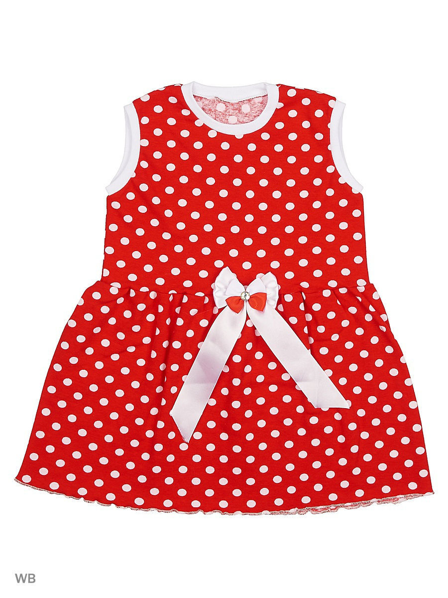 Платье Babycollection 13CR-428/d/красный