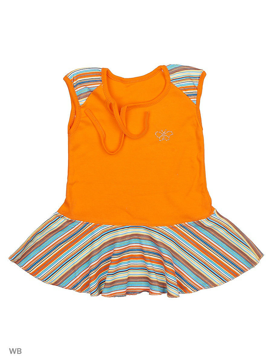 Платье Babycollection 12LAO12-002/1/d/оранжевый