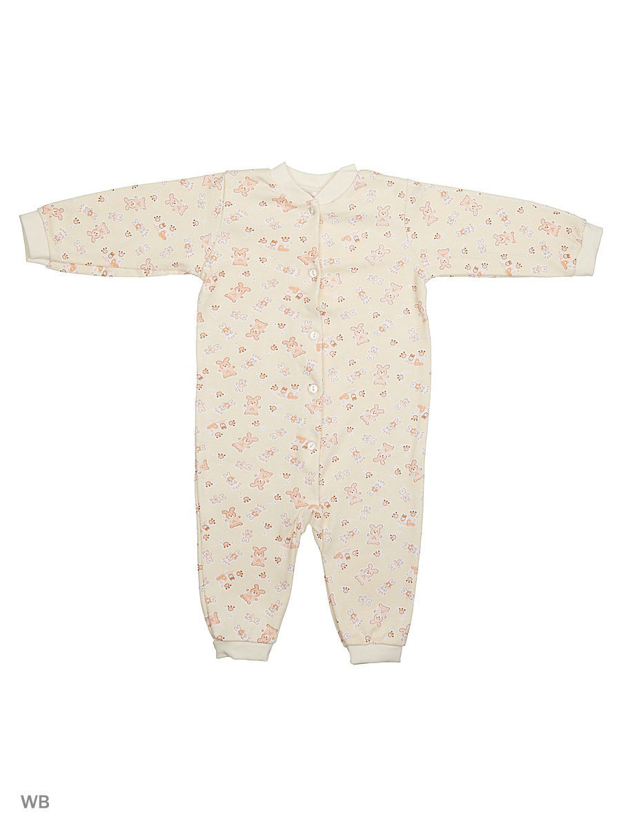 Комбинезон Babycollection 12LAO13-005/3/d/бежевый